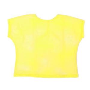 XL Yellow Mesh Top