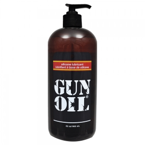 Gun Oil Silicone Transparent 32oz