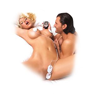 Fetish Fantasy Shock Therapy Kit White OS
