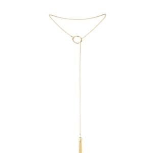 Magnifique Tickler Pendant - Gold