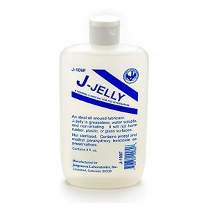 J-Lube Jelly Flask 237 ml. (8 oz.)