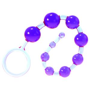 Kinx Dragonz Tail Anal Beads Violet OS