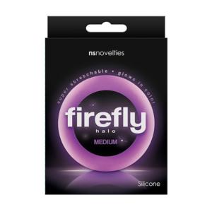 NS Novelties Firefly Halo Purple Medium
