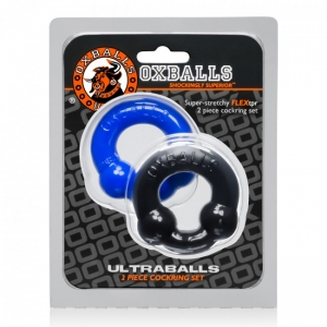 Cock ring Oxballs Ultraballs Black Os