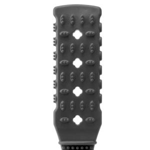 Fetish Fantasy Rubber Paddle Black 10.5in