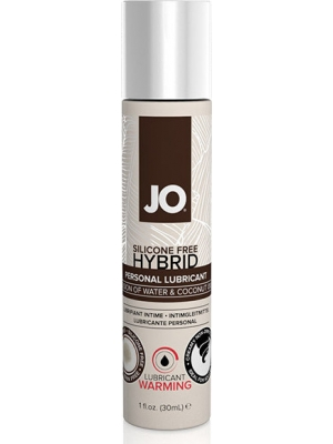 System JO - Silicone Free Hybrid Lubricant Coconut Warming 30 ml