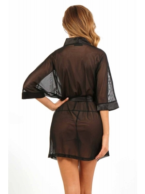 Sexy Kimono 2333 - Black