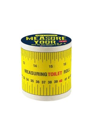 MEASURE YOUR TOILET PAPER