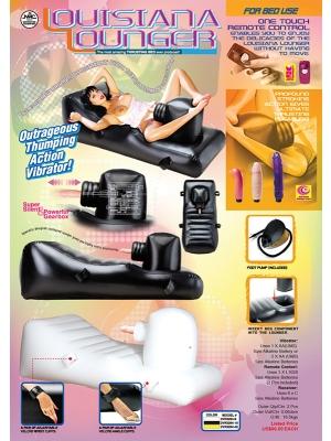 Luisiana Inflatable Lounger Με 3 Δονητές Nanma