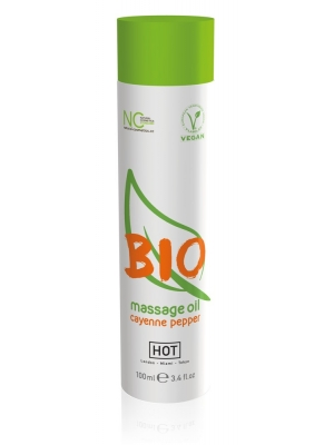 Hot Bio Massage Oil Cayenne Pepper 100ml