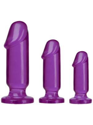 Anal Starter Kit Anal Plug Purple