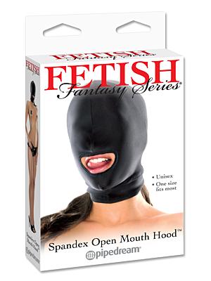 Spandex Κουκούλα Με Άνοιγμα Στόματος Fetish Fantasy