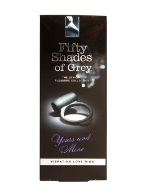 FIFTY SHADES OF GREY - VIBRATING LOVE RING