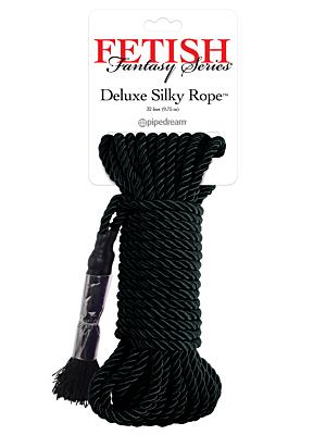 Fetish Fantasy Series Deluxe Silky Rope Black