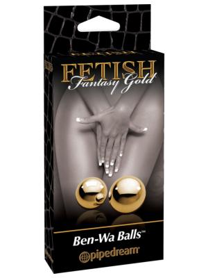Pipedream Fetish Fantasy Gold - Ben-Wa Balls 2cm