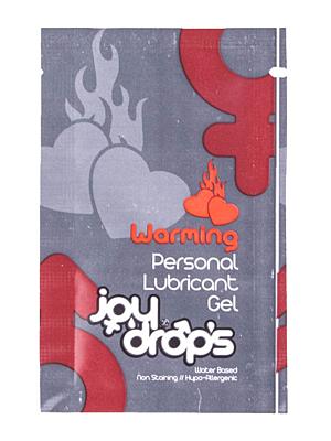 Warming Personal Lubricant Gel - 5ml sachet