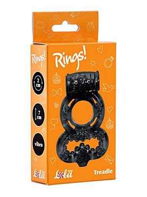 Cockring Rings Treadle black