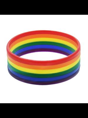 2.3cm Rainbow Silicon Bracelets