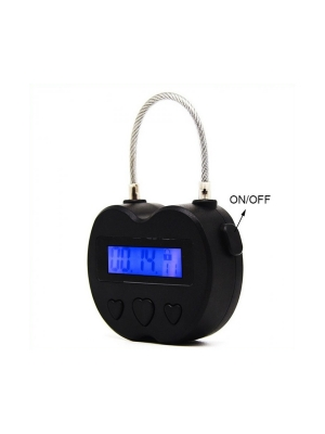 Automatic Lock Time padlock