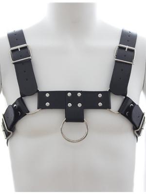 Cheap Men's Harness Chest - Vegan Leather
