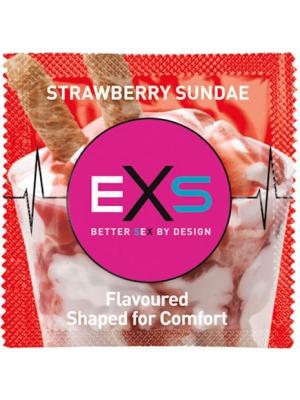 EXS Strawberry Sundae Condom 1pcs