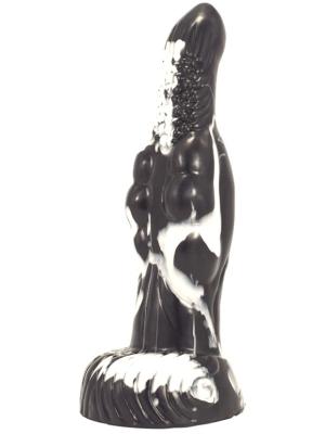 Freak Dildo 20 x 6cm Black-White