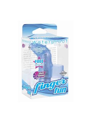 Finger Fun Μπλε Δονητής Pipedream