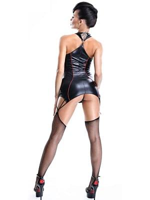 Women's suit Shibari pack Yuriko Demoniq - Black M & L