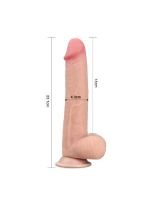 Sliding Skin Dual-layer Dong 23cm