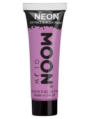 Pastel Neon UV Face Paint - Pastel purple