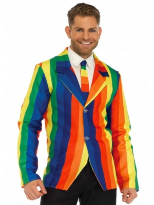 Rainbow Clown Suit