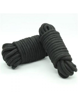 Bondage rope 10m (black)