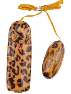 Leopard Print Love Egg